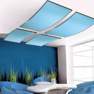 Sonic ceiling tiles